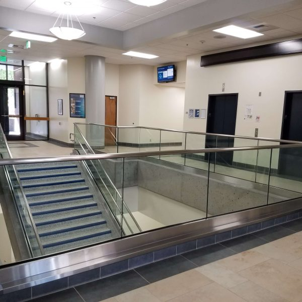 Capital Glass provides Reno, Carson City and the Northern Nevada area with the best in residential and commercial glass services. Our services include glass repair, window repair, automatic door installation, and frameless shower enclosures. Glass Handrail 3