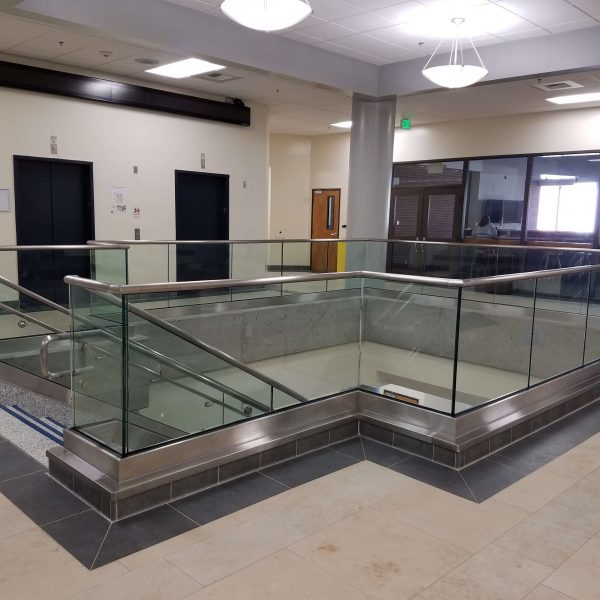 Capital Glass provides Reno, Carson City and the Northern Nevada area with the best in residential and commercial glass services. Our services include glass repair, window repair, automatic door installation, and frameless shower enclosures. Glass Handrail 4
