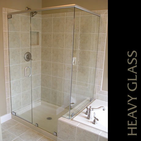 Capital Glass provides Reno, Carson City and the Northern Nevada area with the best in residential and commercial glass services. Our services include glass repair, window repair, automatic door installation, and frameless shower enclosures. heavy glass shower 4