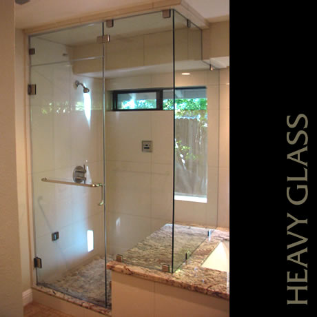 Capital Glass provides Reno, Carson City and the Northern Nevada area with the best in residential and commercial glass services. Our services include glass repair, window repair, automatic door installation, and frameless shower enclosures. heavy glass shower 6