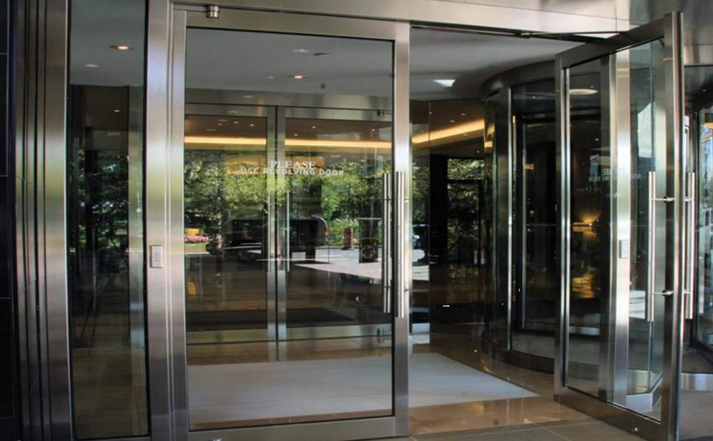 Capital Glass provides Reno, Carson City and the Northern Nevada area with the best in residential and commercial glass services. Our services include glass repair, window repair, automatic door installation, and frameless shower enclosures. manual doors 1